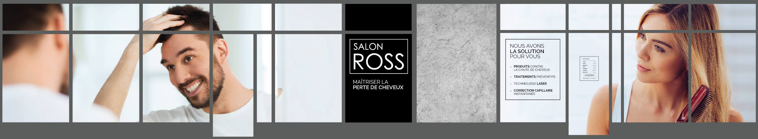 Vitrine Salon ROSS - Complet